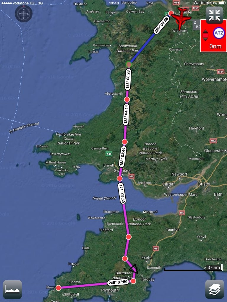 Reds Hawarden to Newquay